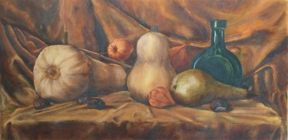 Тыквы и груша