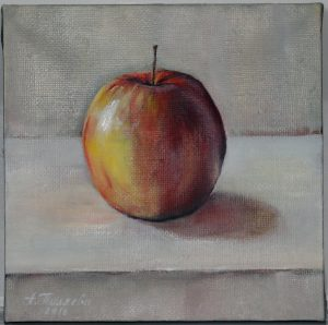 Пестрое яблоко