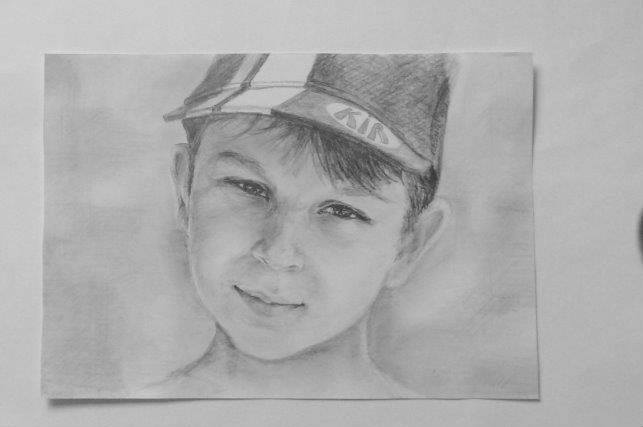 Портрет карандашом Кирилл