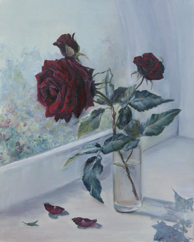 Роза маслом